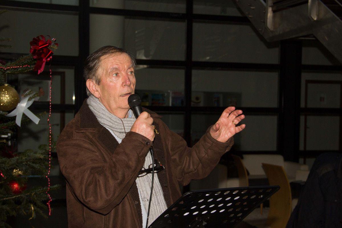 Pierre Léaustic, président de l'association Aux Marins