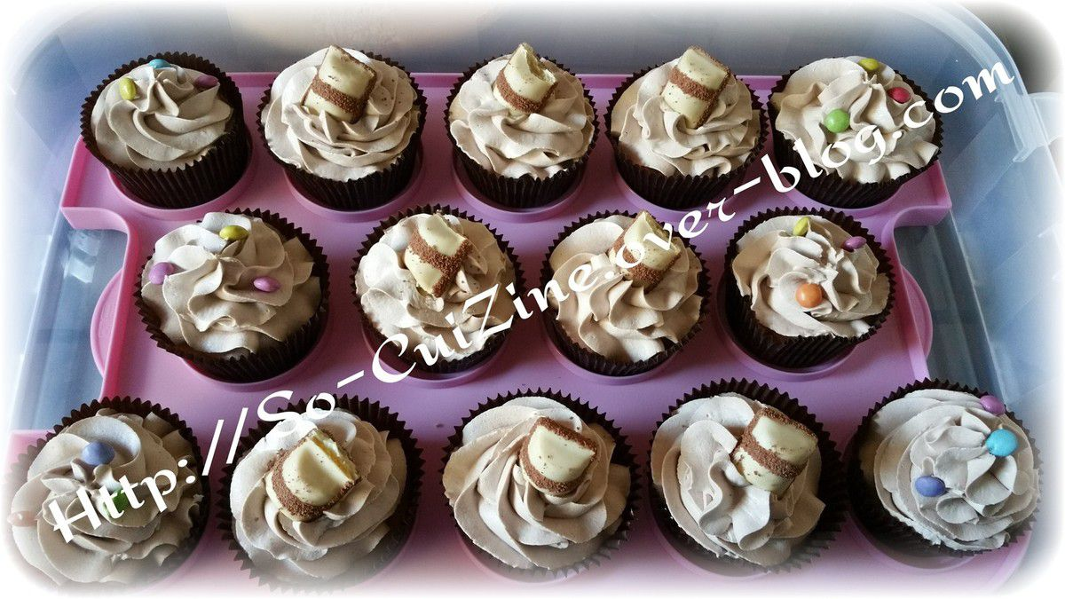 Cupcakes Moelleux