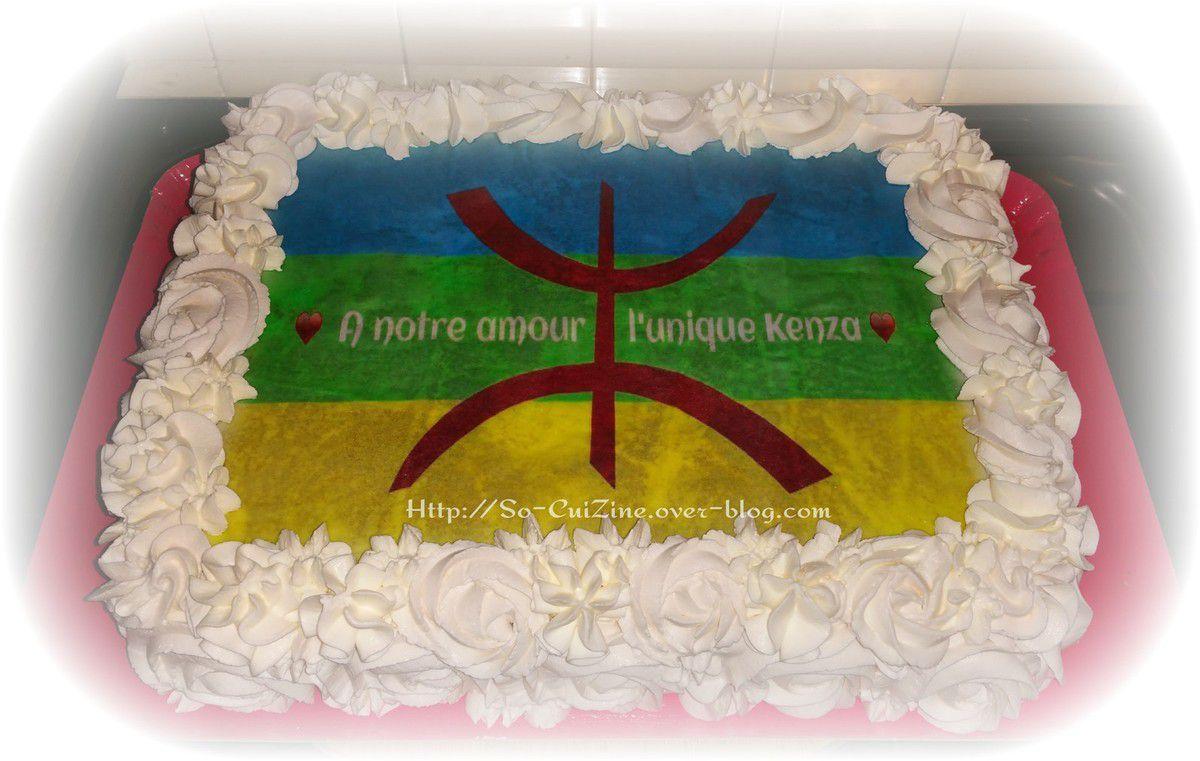 Kabylie Rose Cake