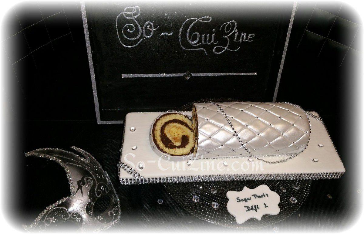 Bûche Cake (Défi 1 #sugarparis)