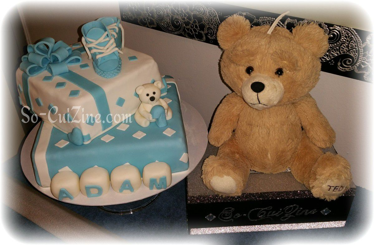 Gift Cake for a baby boy