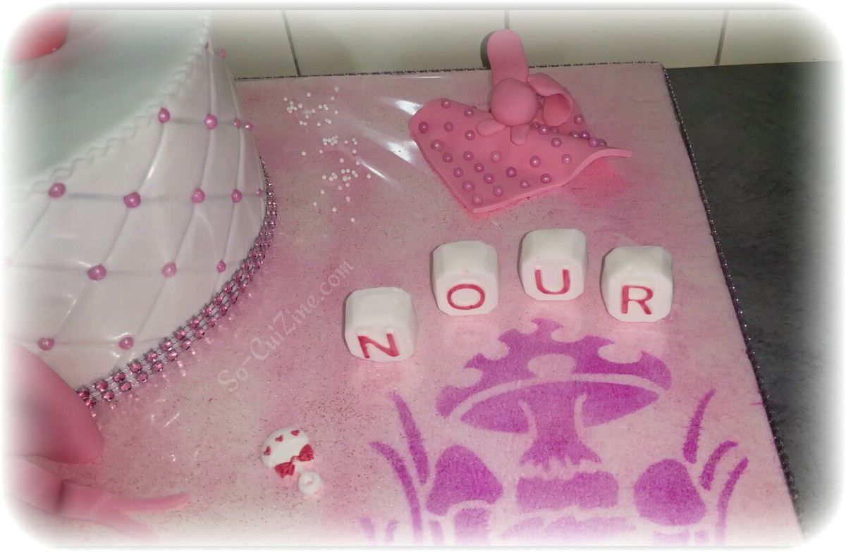 Baby Shower Cake for Baby Girl