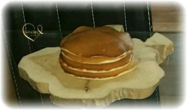 Pancakes express sans oeufs