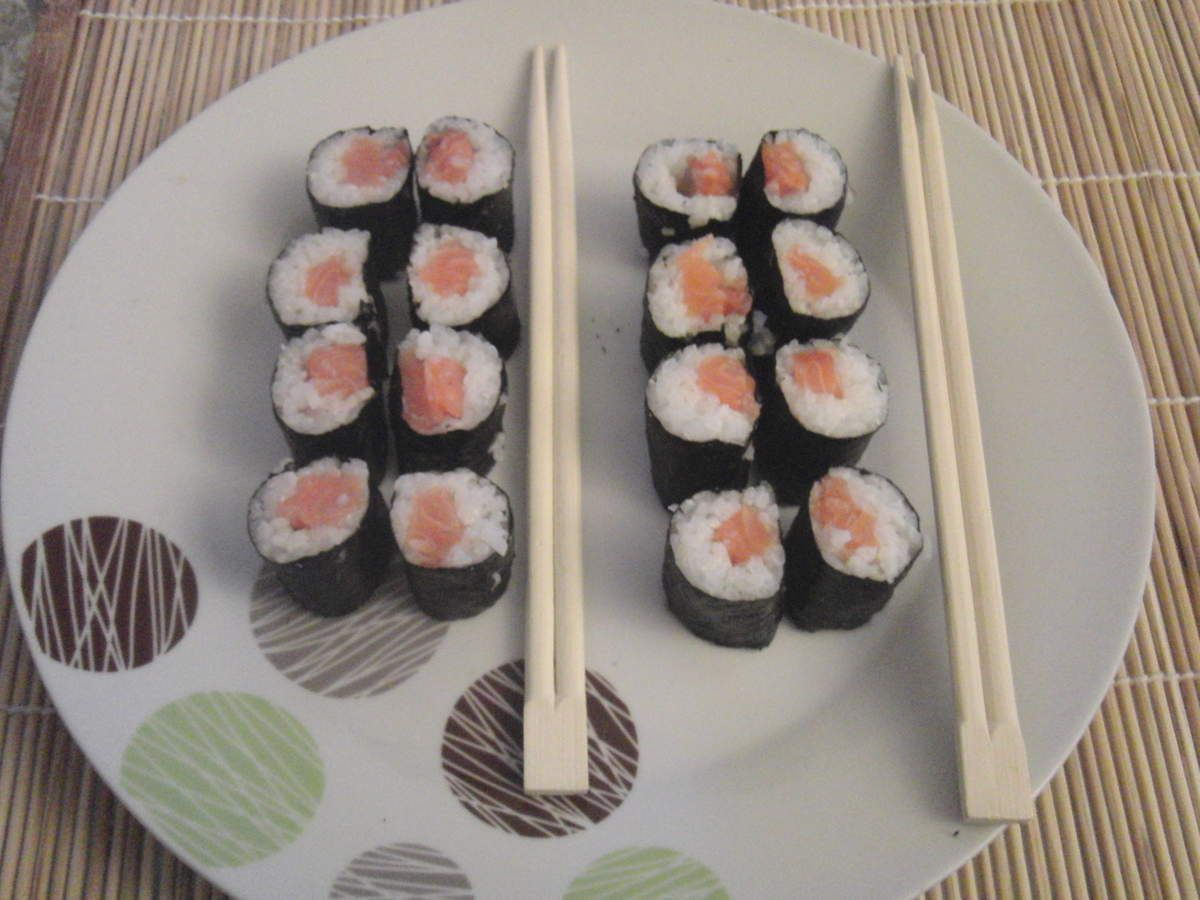 Makis au saumon