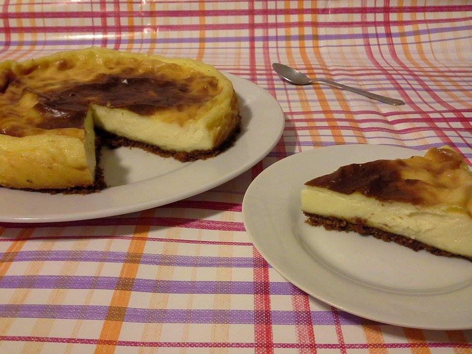 Mon flan pâtissier façon cheesecake