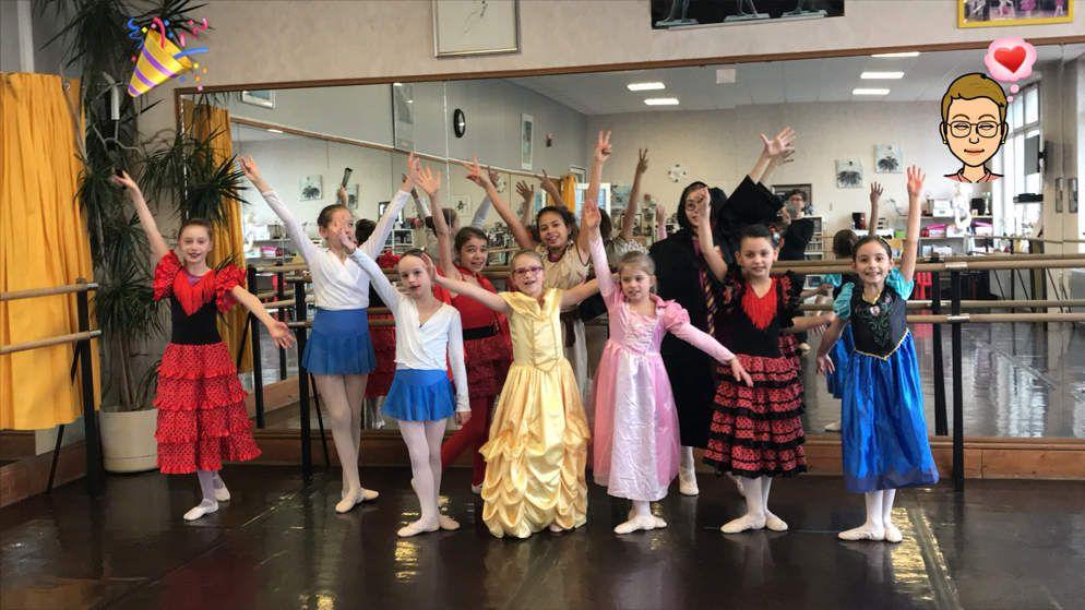 Carnaval à l'académie de danse ! Une super expérience à renouveler en 2019 😉