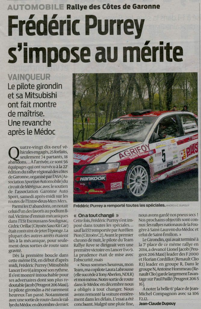 Point Presse : SUD OUEST