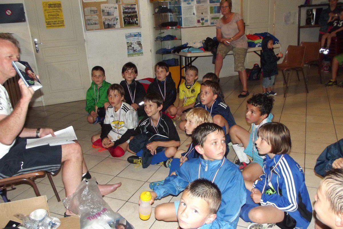 FC MERCURY U9 SAISON 2013/2014 - REMISE DES MEDAILLES