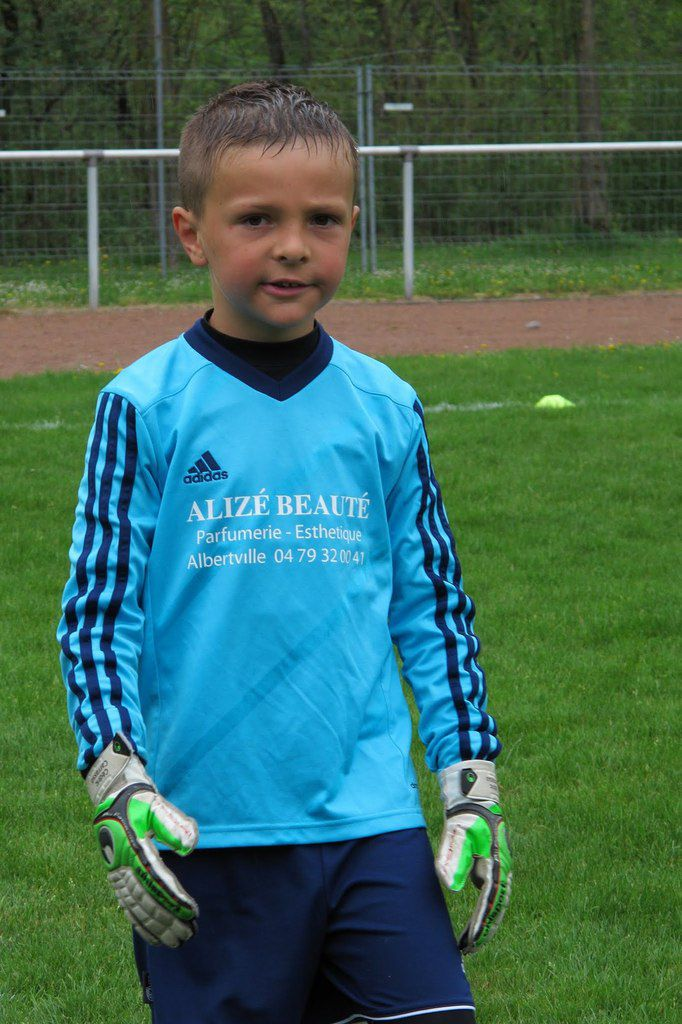 ESTEBAN  U9 CONTRE BOZEL 1 - 25 AVRIL 2015
