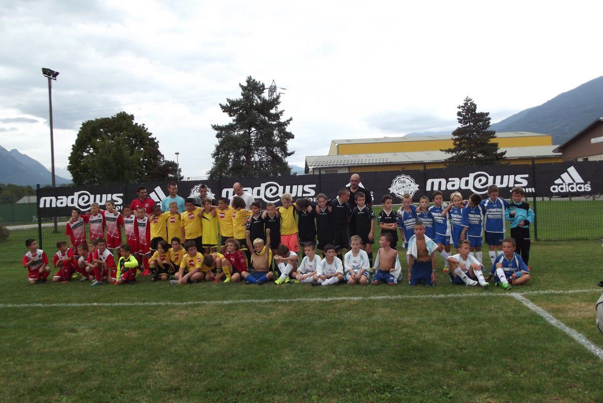 TOURNOI FOOT U11 DISTRICT DE SAVOIE ORGANISE PAR L'ASHCS - 12 SEPTEMBRE 2015