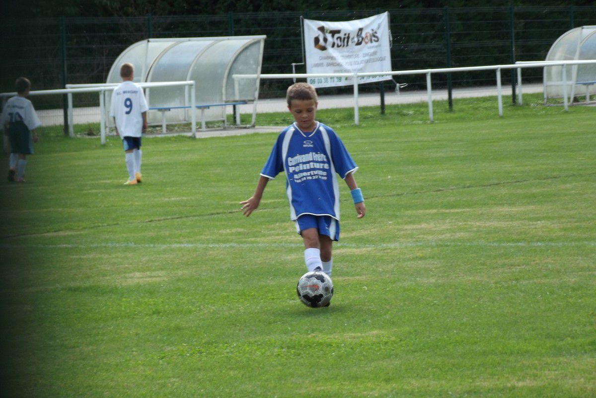 Esteban lors du Tournoi Foot U11 District de Savoie à Saint Hélène 12 Septembre 2015