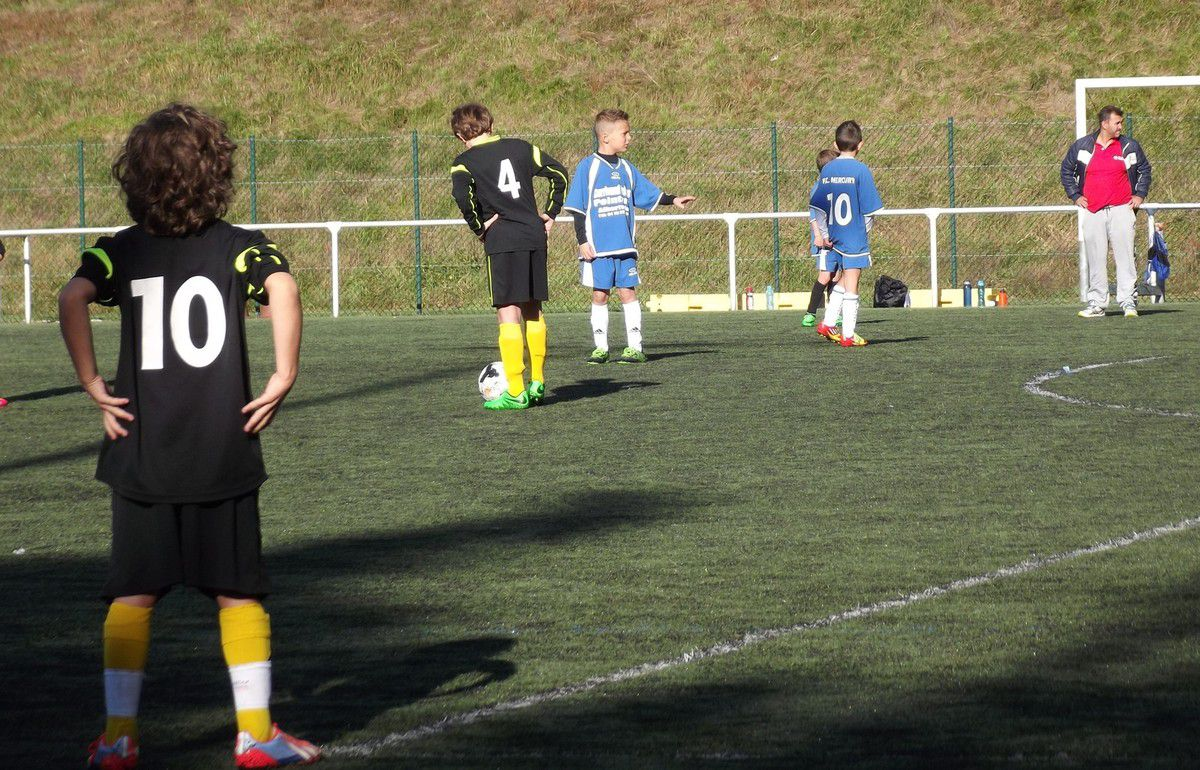 ESTEBAN U11 SAISON 2015/2016 - FCM vs BOZEL - 10 OCTOBRE 2015