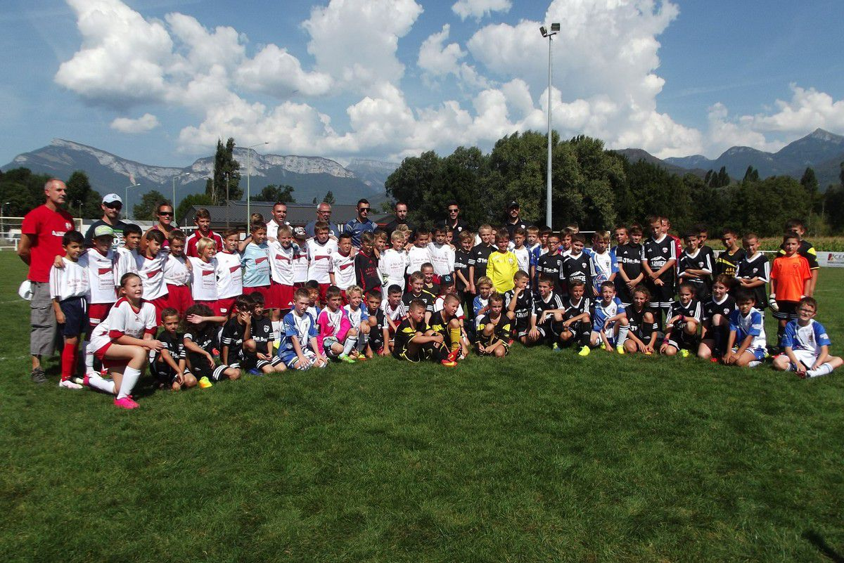 ESTEBAN U11 SAISON 2016/2017 - RENTREE FOOT - ST BALDOPH/FC MERCURY/AS HCS FC/LA ROCHETTE - 10 SEPTEMBRE 2016