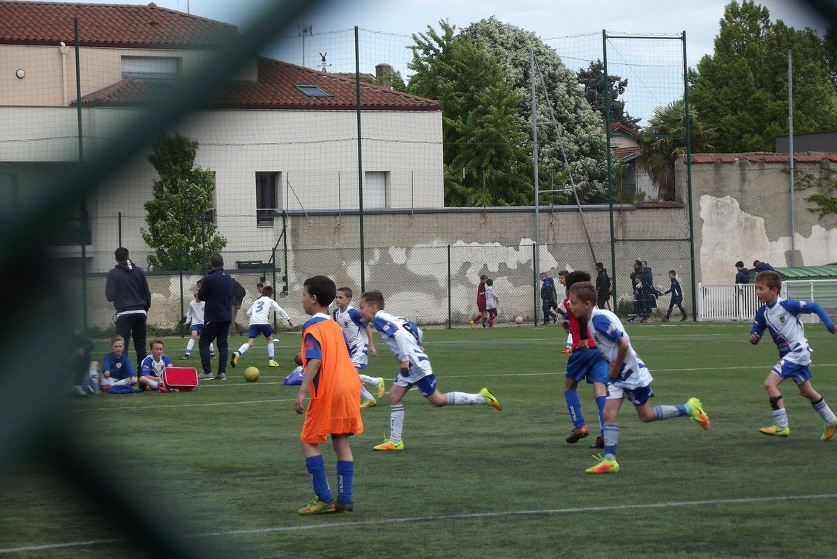 ESTEBAN  TOURNOI U11 AS MONCHAT (LYON) 30 AVRIL 2017
