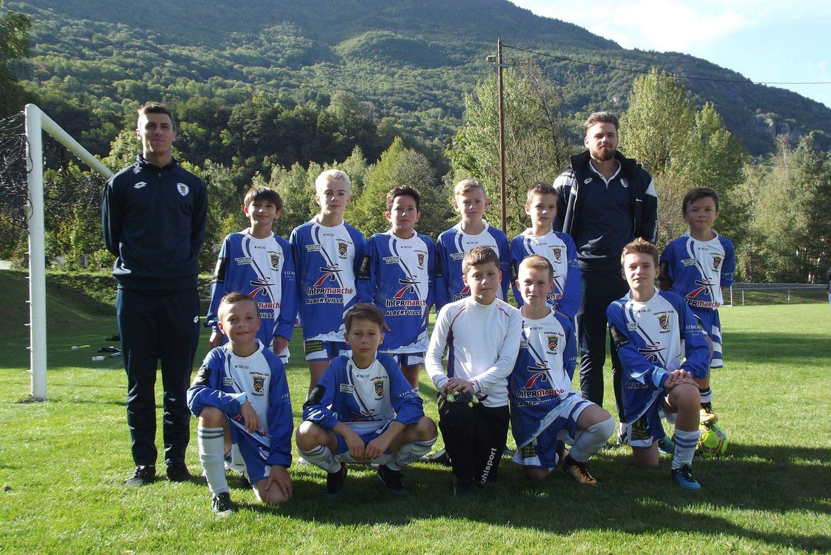 ESTEBAN U13 SAISON 2017/2018 - 1ER TOUR COUPE DE FRANCE - CUINES 16 SEPTEMBRE 2017
