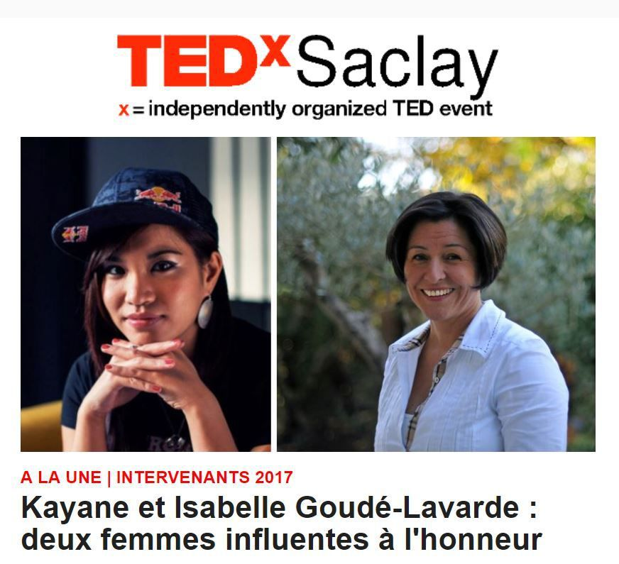 Isabelle GOUDE LAVARDE Conférence TED'x