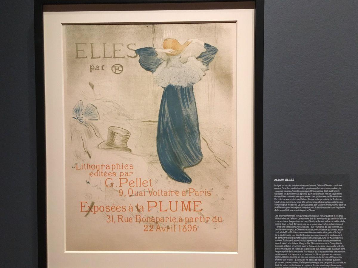 Exposition Toulouse-Lautrec affiche la belle époque.