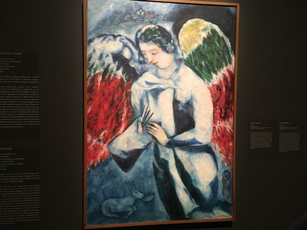 Exposition Chagall, couleur et musique