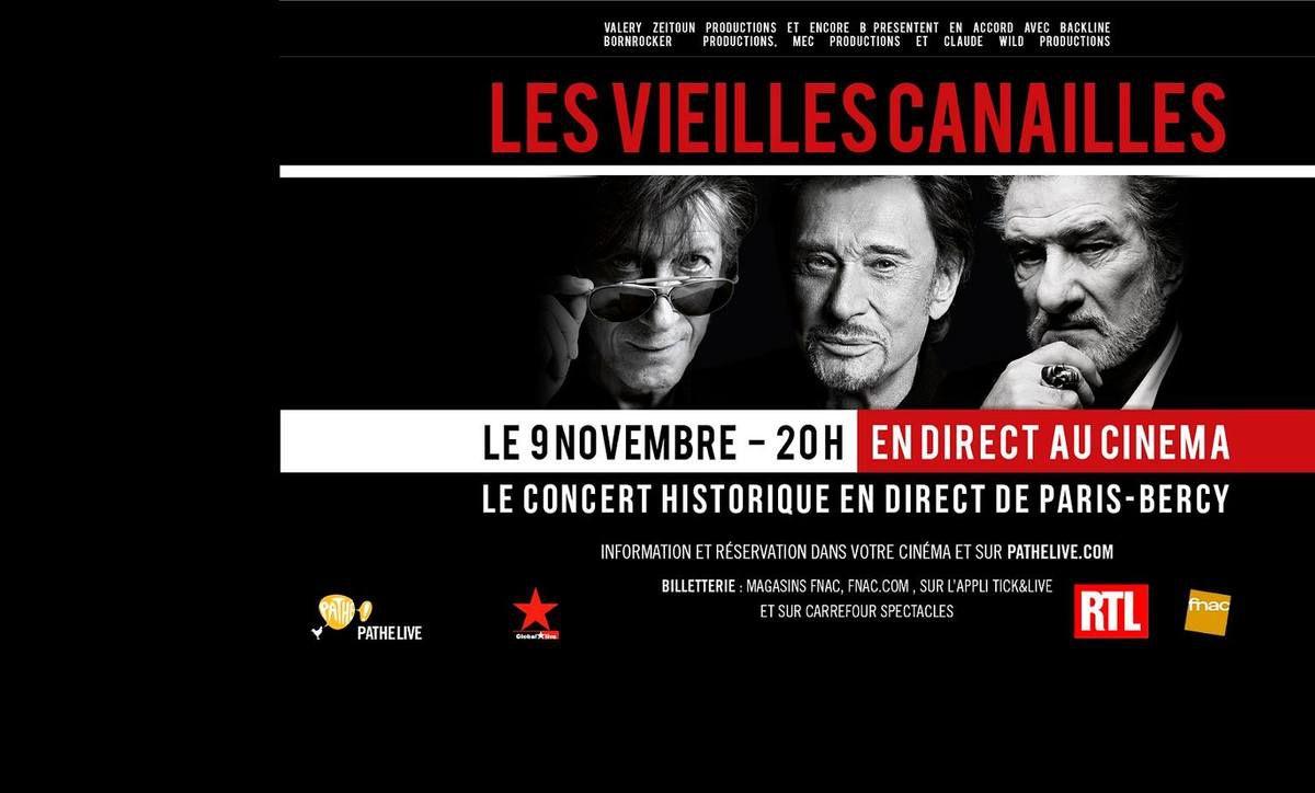 &quot&#x3B;Les Vieilles Canailles&quot&#x3B; en Direct au Cinéma de Mâcon