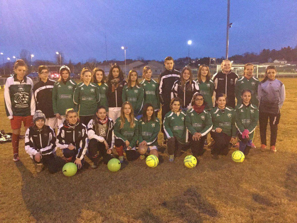 Féminines U15 ET U18 Asm Football