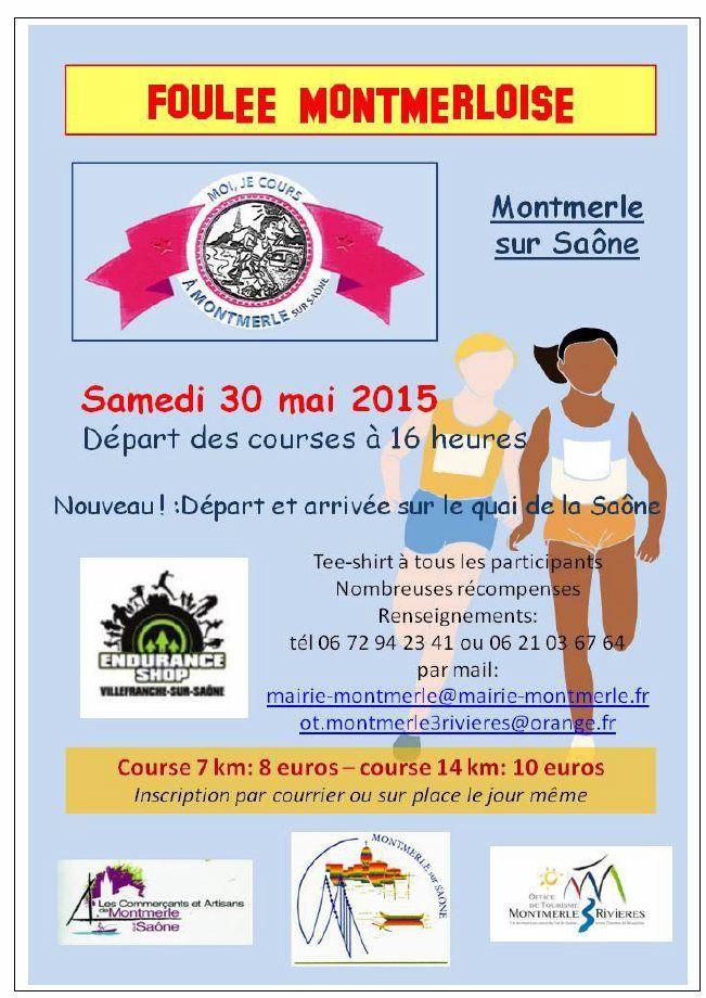 La Foulée Montmerloise le 30 Mai 2015.