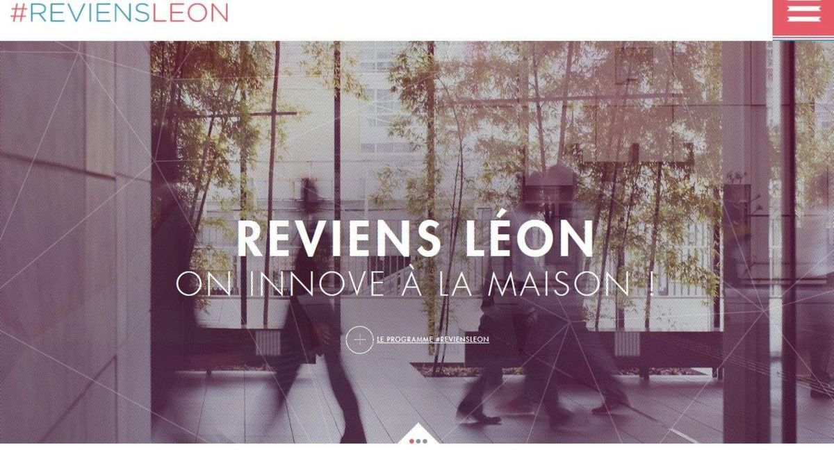 &quot&#x3B;REVIENS LÉON&quot&#x3B;, L'APPEL DES START UP...