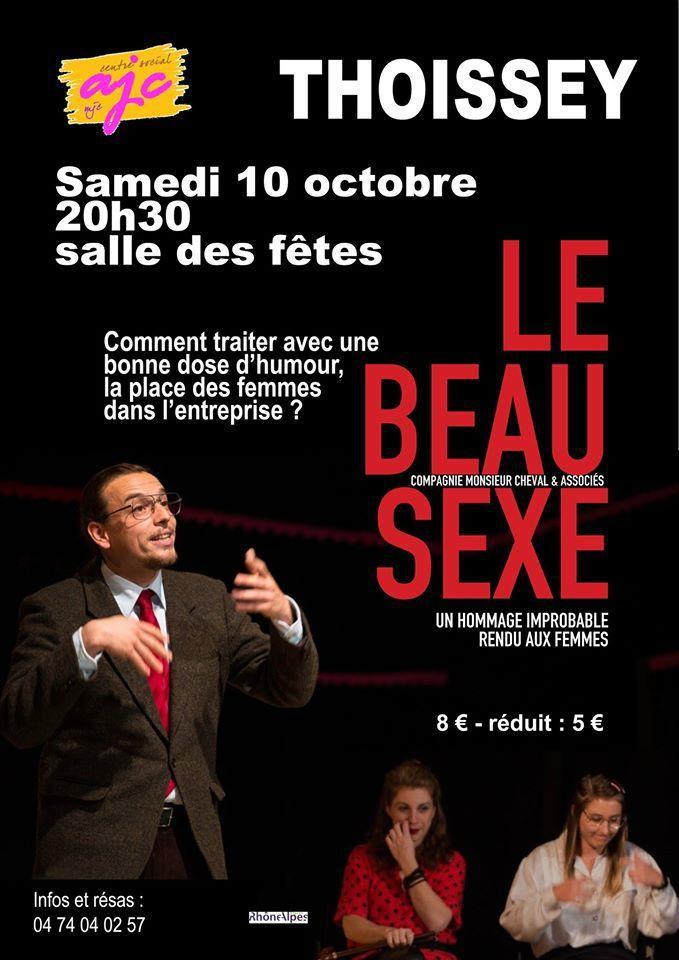 Samedi 10 Octobre :Théâtre à Thoissey