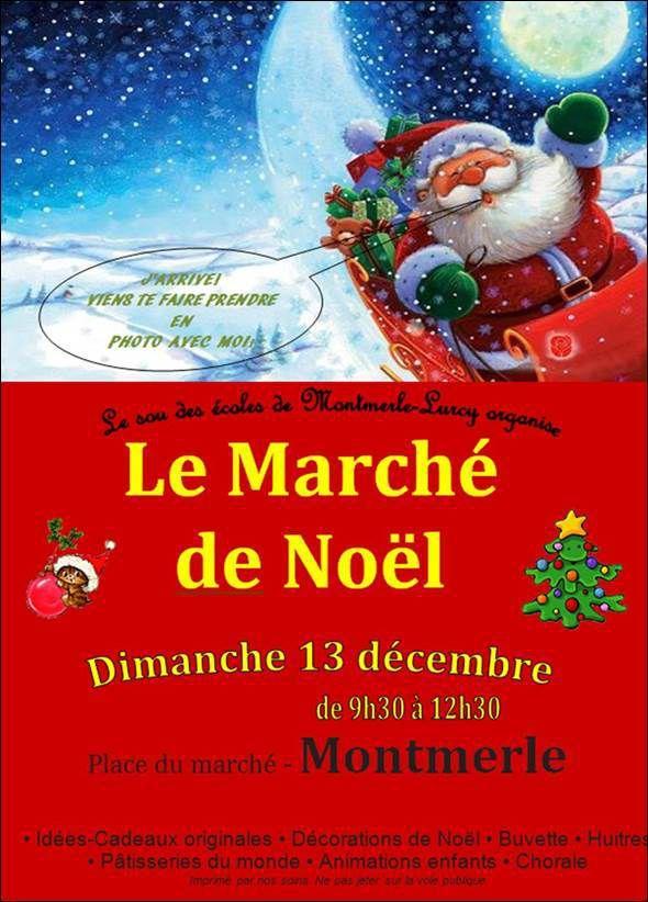 MARCHE DE NOEL A MONTMERLE LE DIMANCHE 13 DÉCEMBRE 2015