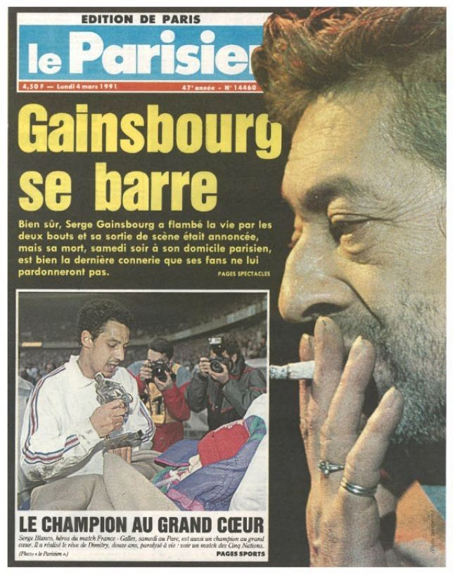 Gainsbourg:Il y a 25 ans .....