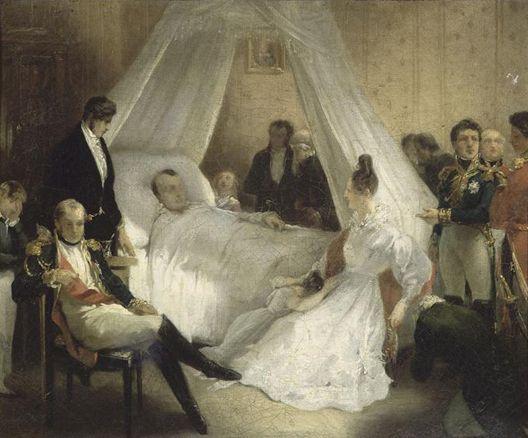 MORT DE NAPOLÉON 1er LE 5 MAI 1821