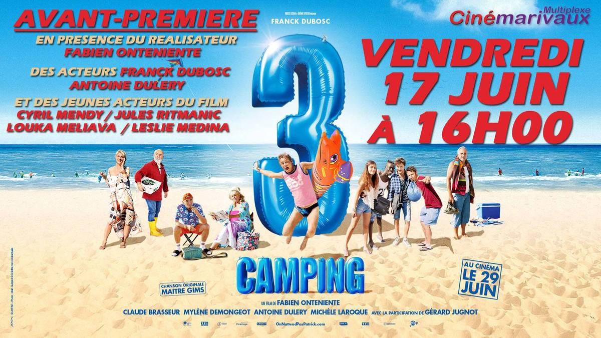 Camping 3 :Avant première à Mâcon