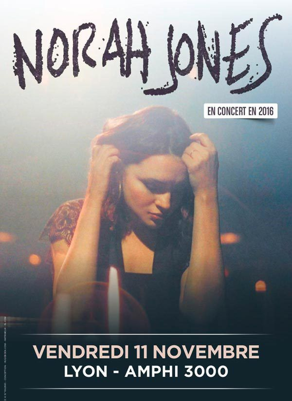 Norah Jones :Lyon places disponibles