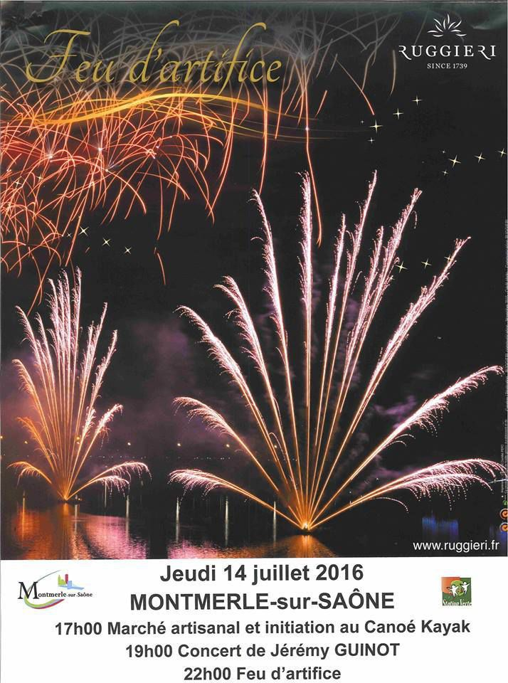 Montmerle Sur Saône:Programme Du 14 Juillet
