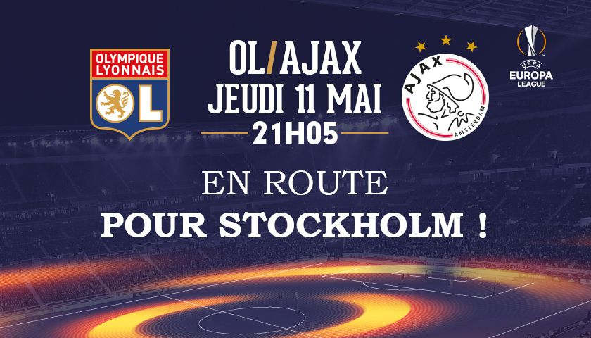 Exclusif grand public: OL-Ajax il reste 4 places