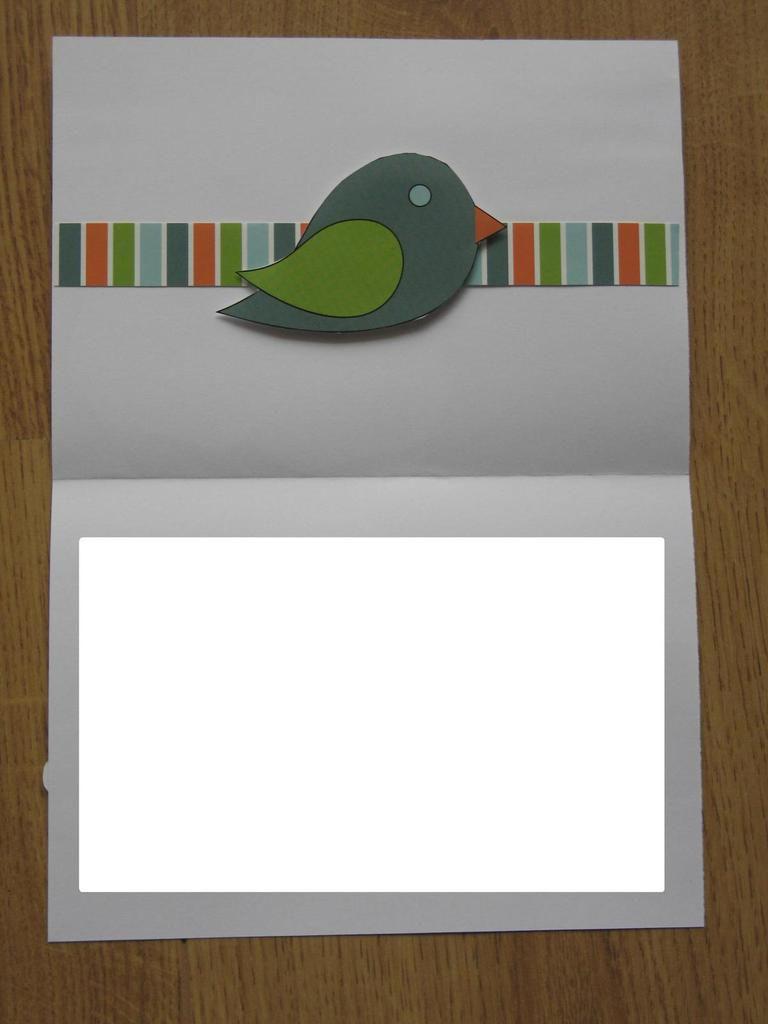 Carte pour un mariage au thème &quot&#x3B;oiseaux&quot&#x3B;
