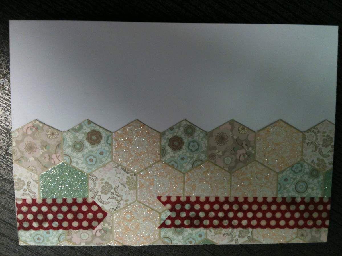 Une nouvelle carte d'anniv style &quot&#x3B;gateau&quot&#x3B;, décidément... &#x3B;)