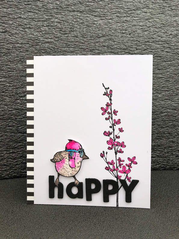 Carte «Happy». Carabelle studio.