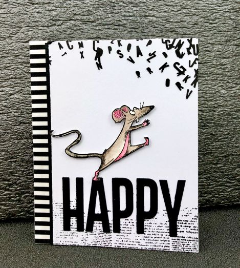 Carte « Happy ». Katzelkraft