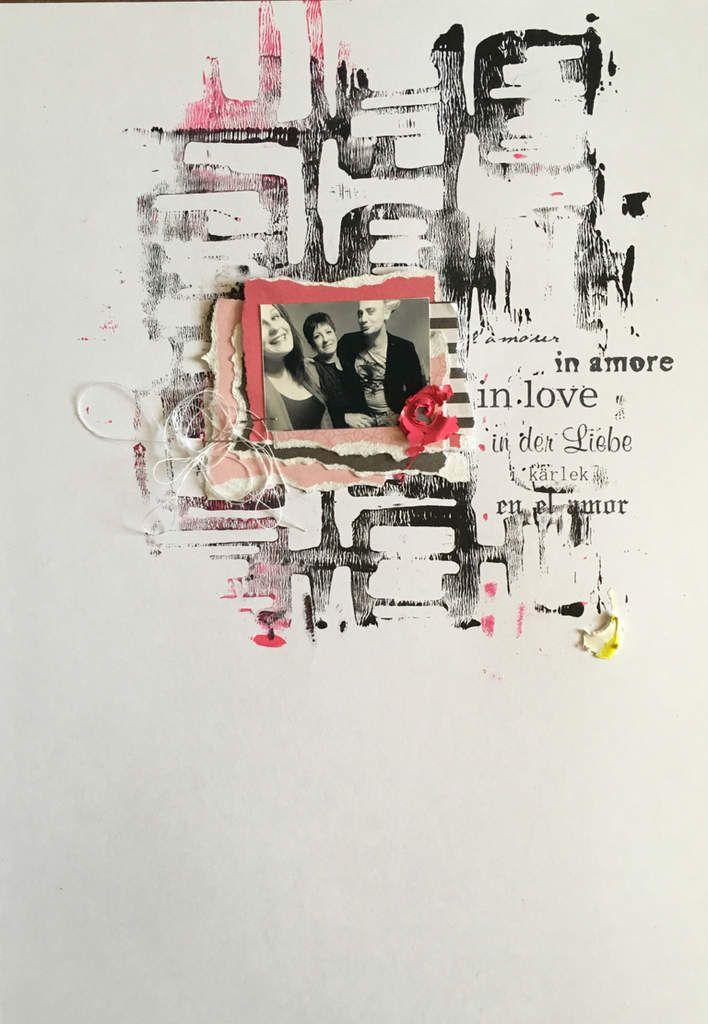 Page &quot&#x3B;In love&quot&#x3B; pour la scraposphere.