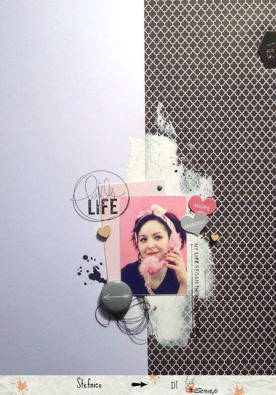 Hello Life pour filandscrap