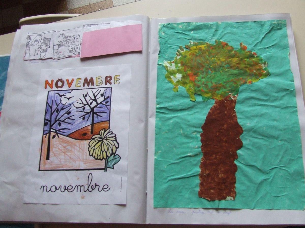 cahiers de liaison, classeur, cahiers d'arts plastiques et pages du cahier d'arts plastiques....