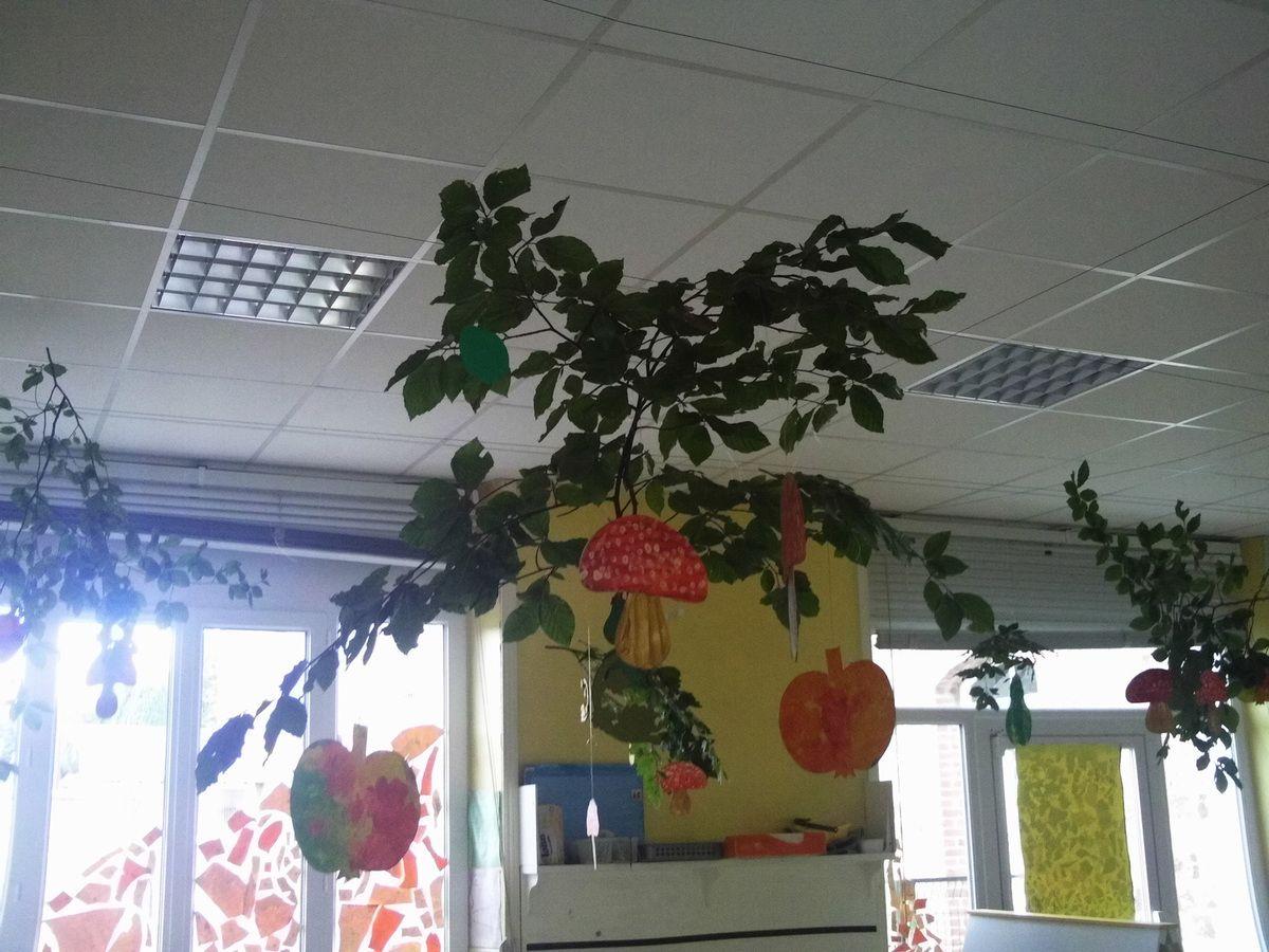 C'est l'automne dans la classe !