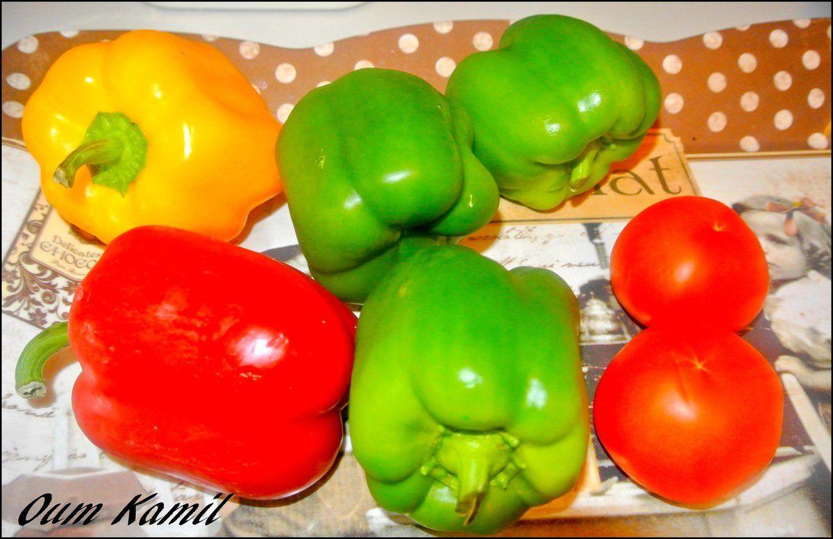 FelFel ( poivrons grillés )