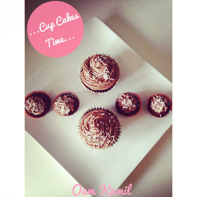 Cup Cake Choco/Nutella