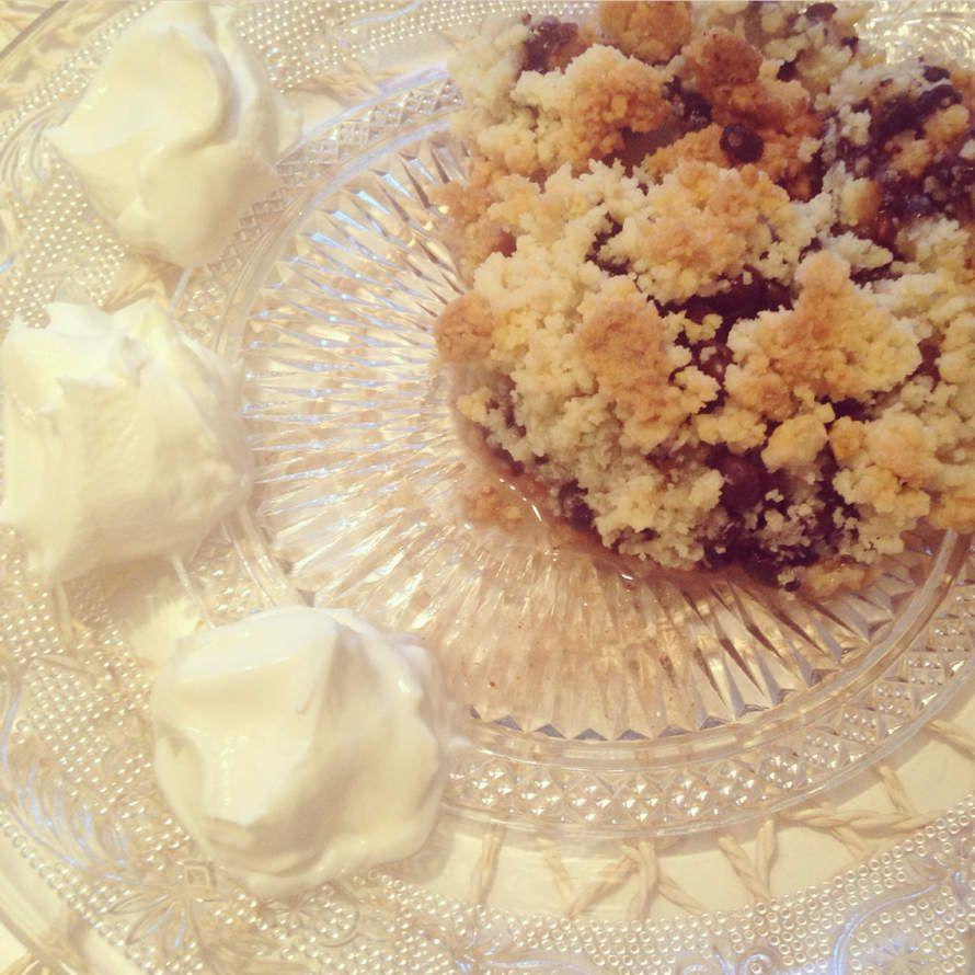 Crumble Poires &amp&#x3B; Chocolat