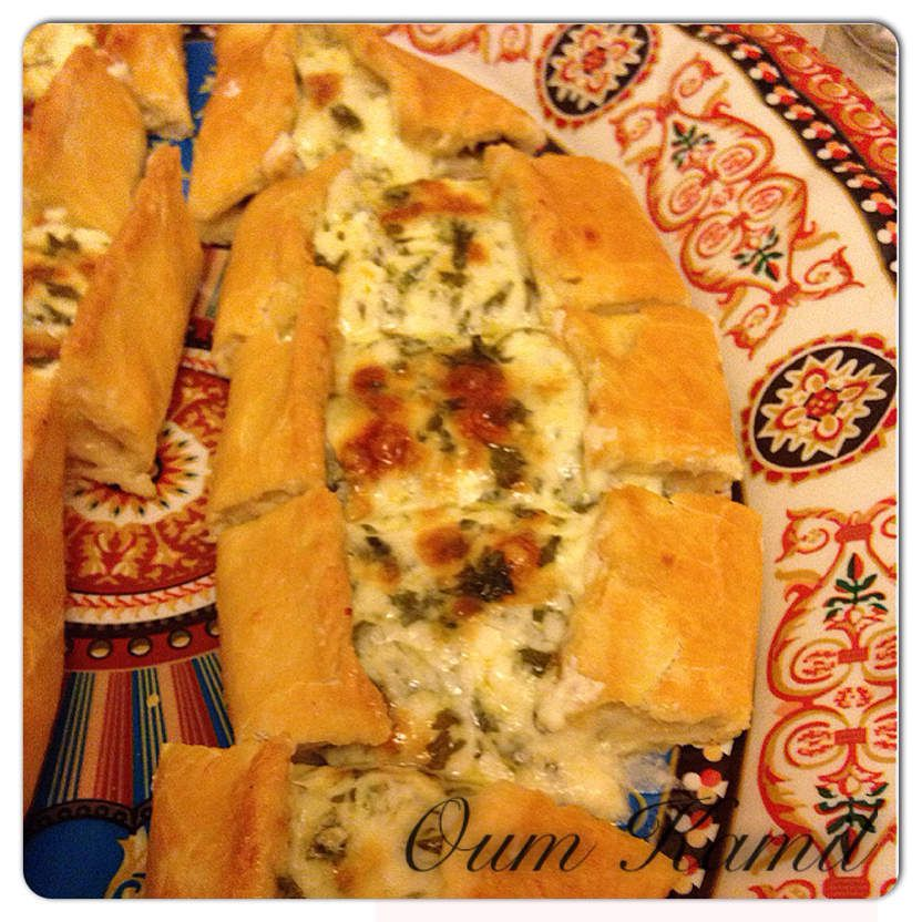 Pide au fromage