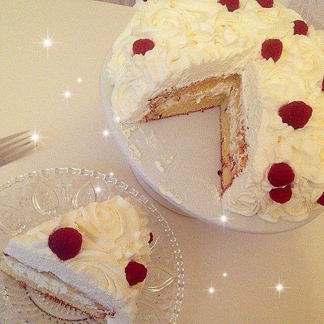 rose cake - forêt blanche d'herve cuisine - cuisine d'une oummi