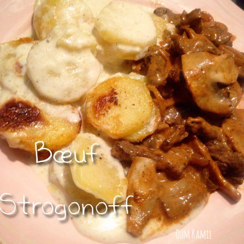 Bœuf Strogonoff - Sans alcool