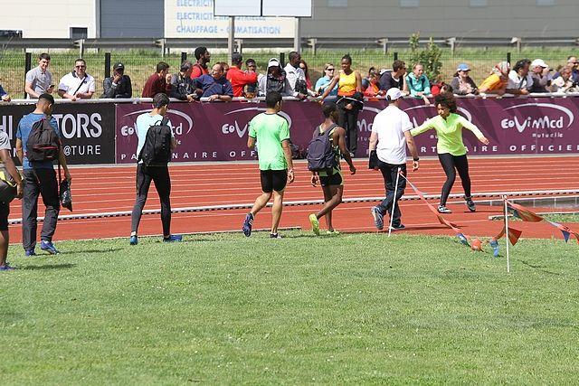 Photos et vidéo  200m Championnat de France CA/JU