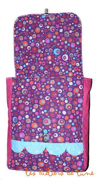 Un sac à dos idéal pour la maternelle ou la crèche : Décor MAISONNETTE